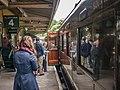 Train arriving, Horstead Keynes (9137389321).jpg