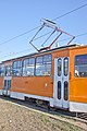 Tram in Sofia in front of Central Railway Station 2012 PD 083.jpg