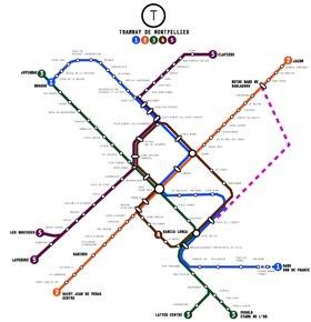 Image illustrative de l'article Tramway de Montpellier