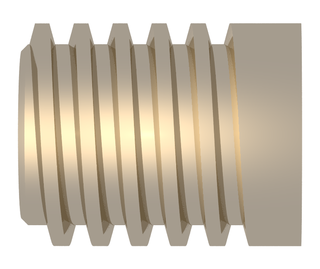 Trapezoidal thread form Screw thread profiles with trapezoidal outlines