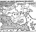 Treaty of Sevres , President Wilson Armenian Boundary 02.JPG