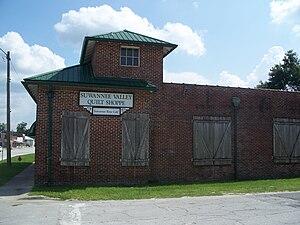 Coca-Cola Bottling Plant (Trenton, Florida) - Image: Trenton Coca Cola bldg 07