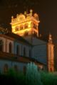 Trier Basilika St. Matthias Kirche vom Friedhof aus gesehen.png
