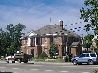 Trimble County, Kentucky - Image: Trimble County Courthouse Kentucky
