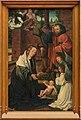 Triptyque de l'Épiphanie Musée Royal des Beaux-Arts-Anvers-volet gauche-Nativité-Maître-de-Francfort.jpg