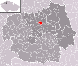 Location of Trnovany
