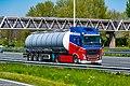 Truck Spotting on the A16 Direction Zwijndrecht 19 04 2019.... Not the Best spot with the Barrier , But better than Nowt . (46728422035).jpg