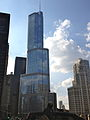 Trump Tower (Chicago) view from east.jpg