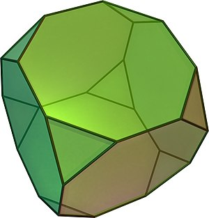 Archimedean solid - Truncated hexahedron