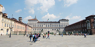 Turin Marathon - Turin's Piazza Castello is the race start and end point