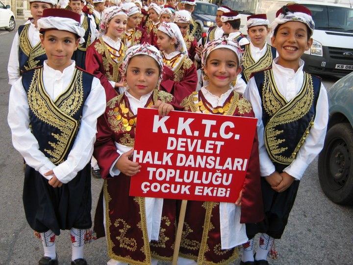 Turkish Cypriot folk dancers