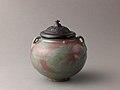 Two-eared jar, Jun ware MET SLP1665-3.jpg