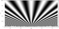 Two Slit Interference, 2500nm wl, 0.1mm d, distant average.png