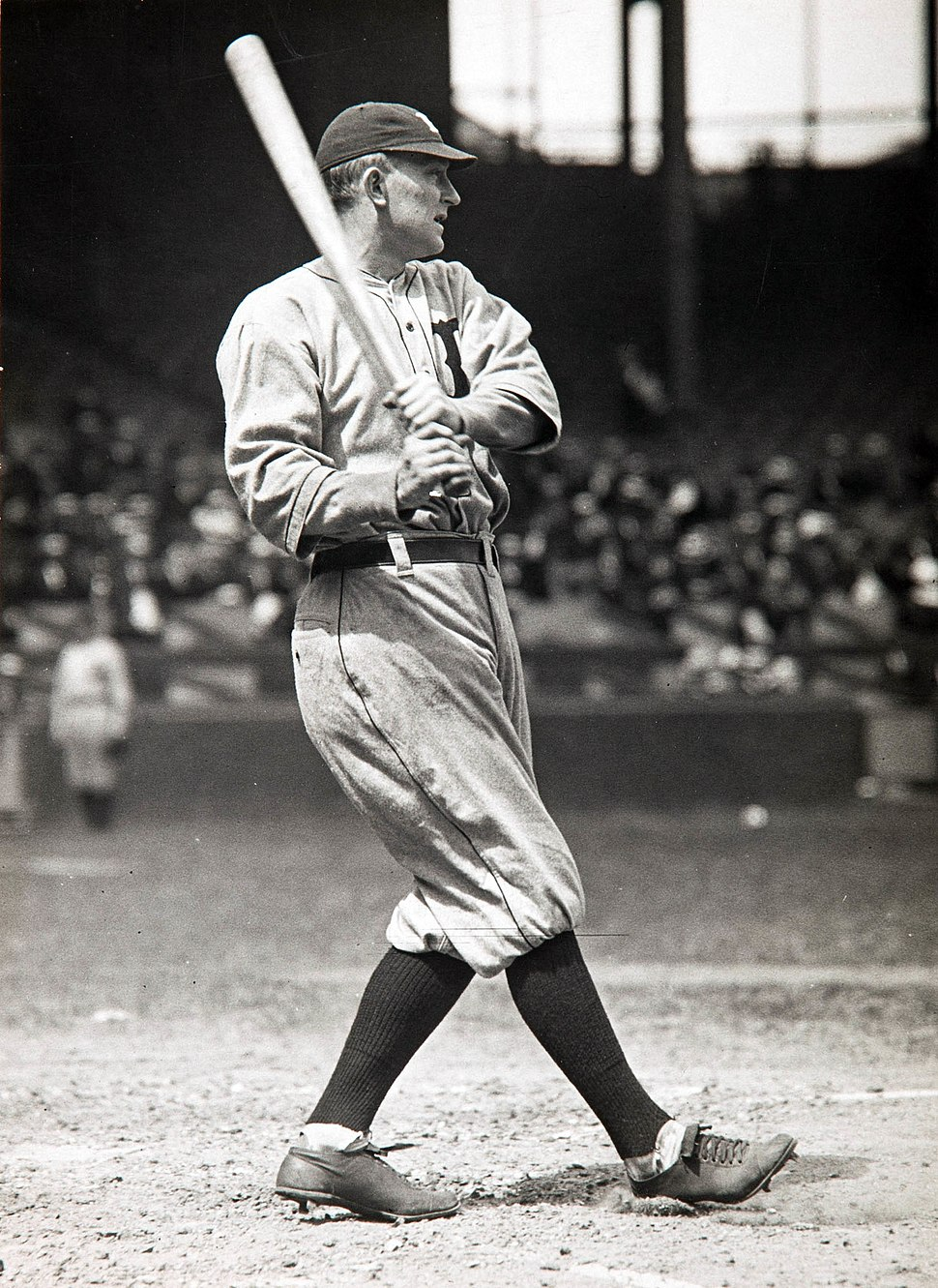 Ty Cobb Paul Thompson, c1918