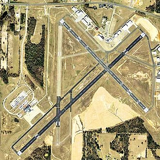 Tyler Pounds Regional Airport - USGS 2006 orthophoto