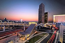 Tysons Corner has more Fortune 500 company headquarters than Washington,  D.C.