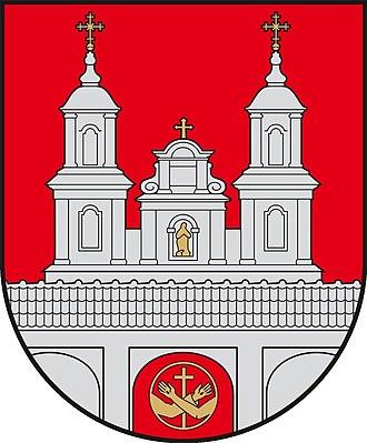Tytuvėnai - Image: Tytuvenai COA