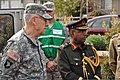 U.S. Army Maj. Gen. Raymond F. Rees, left, the Oregon National Guard adjutant general, and Lt. Gen. Abdul Wadud, the principal staff officer for the Armed Forces Division, Bangladesh, observe activities during 120502-A-NY487-347.jpg