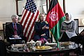 U.S. Secretary of State Hillary Rodham Clinton, center, and U.S. Ambassador to Afghanistan Ryan Crocker, left, meet with Afghan civil society leaders at the U.S. Embassy in Kabul, Afghanistan 111020-S-PA947-156.jpg