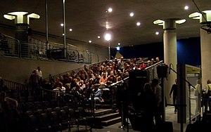 Bundestag (Berlin U-Bahn) - Spectators seated for an opera performance in 2008.