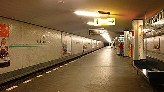 Hansaplatz (Berlin U-Bahn) - Platform of the U9