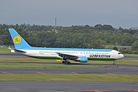 UK67003 - B763 - Uzbekistan Airways