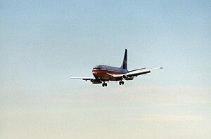 USAir Boeing 737-200 at Charlotte/Douglas Inte...