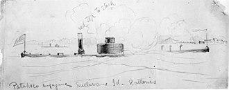 USS Patapsco (1862) - Image: USS Patapsco (1862)