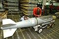 US Navy 020308-N-8505J-060 USS Stennis - Weapons magazine bomb prep.jpg