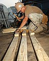 US Navy 040517-N-0401E-001 Builder 2nd Class Mike Elyea constructs bunks aboard the Al Basrah Oil Terminal in the Northern Arabian Gulf.jpg
