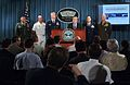 US Navy 050512-N-2383B-007 The Military's top leaders address the media during a press conference held at the Pentagon.jpg