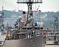 US Navy 050708-N-4124C-007 The mine countermeasures ship USS Guardian (MCM 5) pulls into the India Basin in Sasebo, Japan.jpg