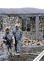 US Navy 071213-N-0676F-035 Provincial Reconstruction Team (PRT) Khost members, Construction Mechanic 1st Class Mike Fall and Arizona National Guard Sgt. Claude Benson return from inspecting a school construction site.jpg