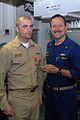 US Navy 090225-N-1794M-096 Chief Fire Controlman Matthew Barry accepts the Bronze Star from Capt. Michael Manazir.jpg