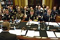 US Navy 100414-N-9818V-056 Senior enlisted service members testify before the House Appropriations Committee Subcommittee on Military Construction to discuss quality of life issues.jpg