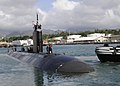 US Navy 101201-N-3560G-001 SS Charlotte (SSN 766) departs Joint Base Pearl Harbor-Hickam for a scheduled deployment to the Western Pacific region.jpg