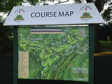 US Open Golf Wikipedia - Us open map