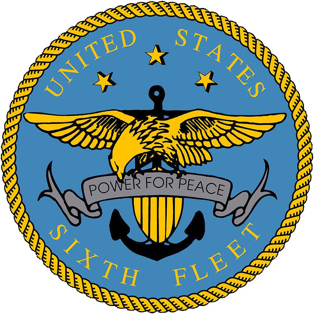 file us sixth fleet logo high resolution version jpg wikimedia commons rh commons wikimedia org us naval academy logo vector us navy anchor logo vector