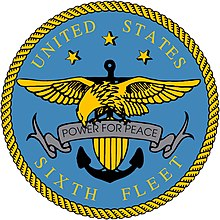 US Sixth Fleet Logo version resolution