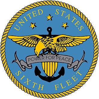 United States Sixth Fleet - Image: US Sixth Fleet Logo high resolution version