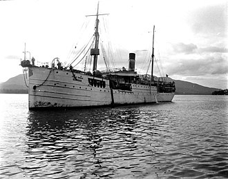 Cable layer - Cable ship Burnside in Ketchikan, Alaska, June 1911