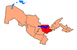 Political Map of Jizzakh