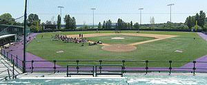Washington Huskies baseball - Image: U of Wash Chaffey Field pano 01