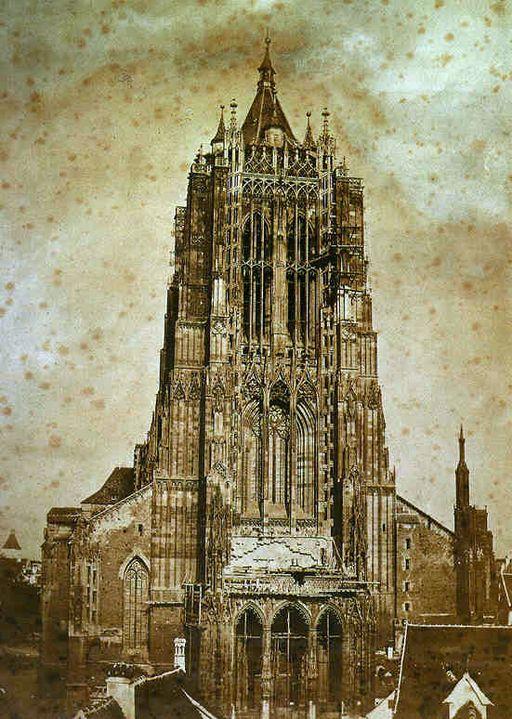 Ulm Münster 1854