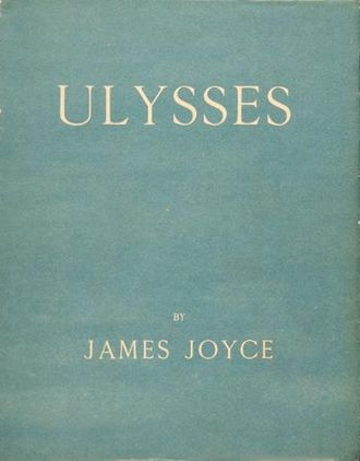 1922 in literature - 1st ed. cover