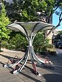 Umbrella Arc by Bike Arc-Margaret Battaglia Plaza-Palo Alto, CA 2014-05-31 08-01.jpg