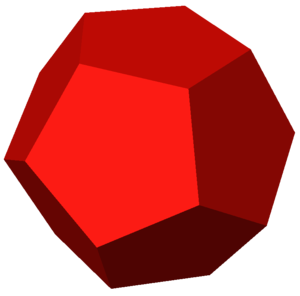 Order-4 dodecahedral honeycomb