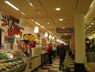 Washington Union Station - The food court at Union Station in February 2006