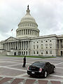 United States Capitol east side with security and Chrysler 300.jpg