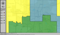 United States Congressional Districts in Oklahoma (metro highlight), 2003 – 2013.tif